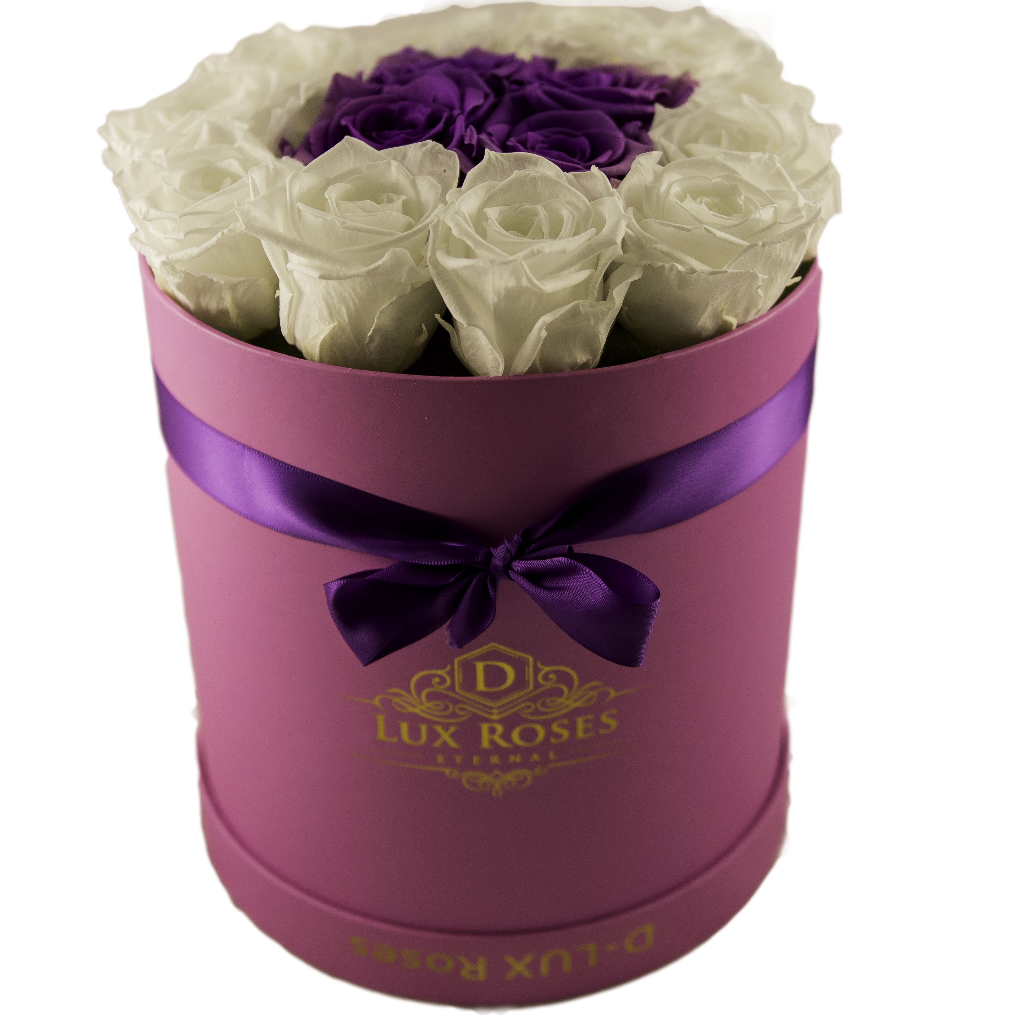 Preserved Roses - DLux Medium Bouquet - Fast Delivery - Highest Quality